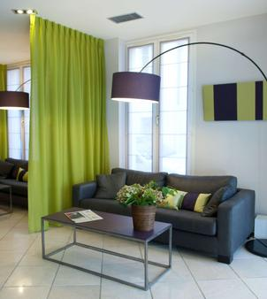 贝斯特韦斯特杜邦威尔逊酒店 - 里昂 - 客厅
