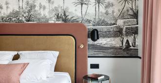贝斯特韦斯特杜邦威尔逊酒店 - 里昂 - 睡房