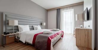 威尔第大酒店高级 - 布达佩斯 - 睡房