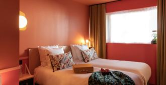 保罗及皮阿 - 欢迎回家酒店 - 科尔马 - 睡房