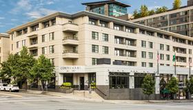 西雅图贝尔维尤/市中心万怡酒店 - 贝尔维尤 - 建筑