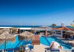 艾欧罗斯海滩酒店 - 玛丽亚 - 游泳池