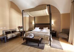 阿雷纳莱斯宫殿霍斯皮斯水疗旅馆 - 卡塞雷斯 - 睡房
