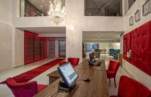 雅阿德城市酒店 - 马拉喀什 - 大厅