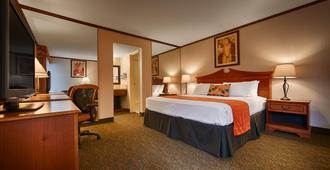 贝斯特韦斯特七海酒店 - 圣地亚哥 - 睡房