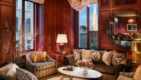 旧金山马克霍普金斯洲际酒店 - 旧金山 - 客厅