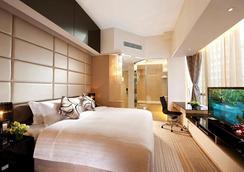 尚园酒店 - 香港 - 睡房
