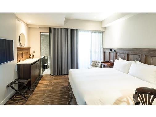 安平留饭店 - 台南 - 睡房