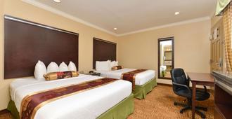 圣迭戈近 Sdsu 罗德威酒店 - 圣地亚哥 - 睡房