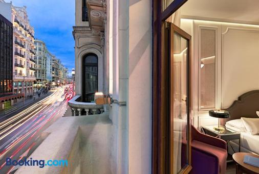 马德里芮纳H10别墅酒店 - 马德里 - 阳台