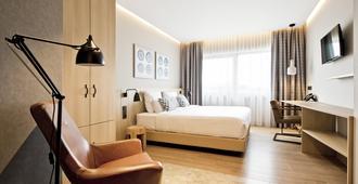 城市洛奇酒店 - 阿姆斯特丹 - 睡房