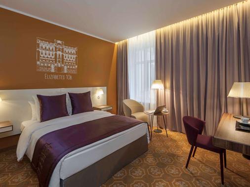 里加市中心美居酒店 - 里加 - 睡房