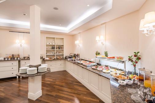 城市宫殿贝斯特韦斯特Plus酒店 - 布伦瑞克 - 自助餐