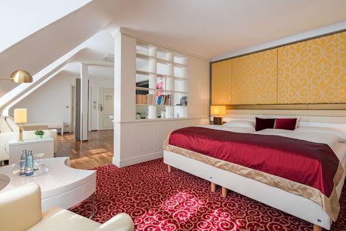 城市宫殿贝斯特韦斯特Plus酒店 - 布伦瑞克 - 睡房