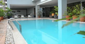 艾丽西亚公寓式酒店 - 宿务 - 游泳池