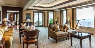 曼谷半岛酒店 - 曼谷 - 客厅