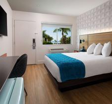 圣特巴巴拉6汽车旅馆 - 海滩
