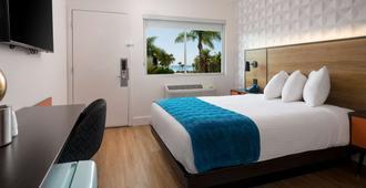 圣特巴巴拉6汽车旅馆 - 海滩 - 圣巴巴拉 - 睡房