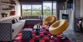华盛顿特区水门酒店 - 华盛顿 - 客厅