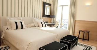 萨尔大酒店 - 桑坦德 - 睡房