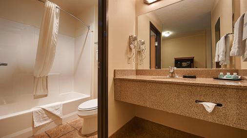 西佳plus伊戈尔瑞吉套房旅馆 - 普韦布洛 - 浴室