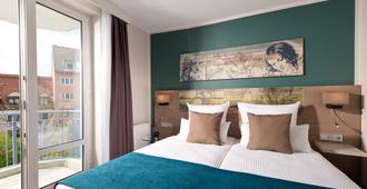 慕尼黑市奥林匹克公园昂纳多酒店 - 慕尼黑 - 睡房