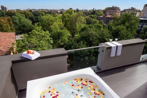 马宁酒店 - 米兰 - 阳台