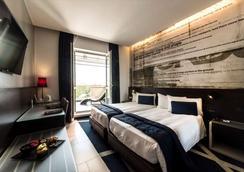 马宁酒店 - 米兰 - 睡房