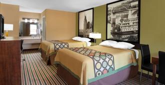 纳什维尔西速8酒店 - 纳什维尔 - 睡房