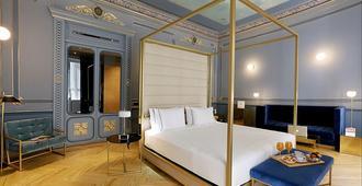 马德里阿克塞尔酒店 - 仅限成人 - 马德里 - 睡房