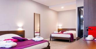 巴勒莫中心美居酒店 - 巴勒莫 - 睡房