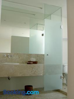 隆巴多套房 - 墨西哥城 - 浴室