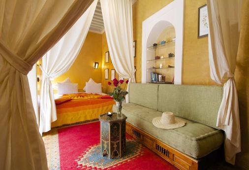密斯利亚摩洛哥传统住宅酒店 - 马拉喀什 - 浴室