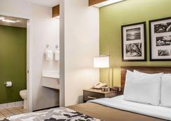 西雅图塔科马机场斯利普酒店 - 锡塔克 - 睡房