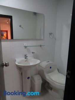 金狮酒店 - 布卡拉曼加 - 浴室