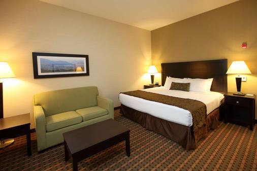 最佳西方太平洋旅馆 - 弗农 - 睡房