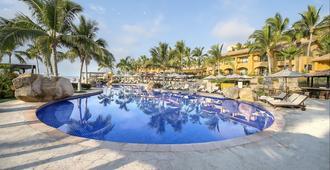 盛大嘉年华美洲洛斯卡沃斯高尔夫温泉酒店 - 卡波圣卢卡斯 - 游泳池