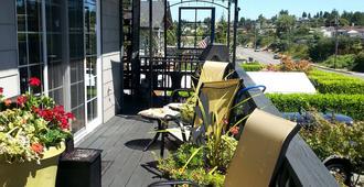 秘密花园家庭旅馆 - 塔科马 - 露台