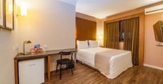 伊利亚港口酒店 - 弗洛里亚诺波利斯 - 睡房