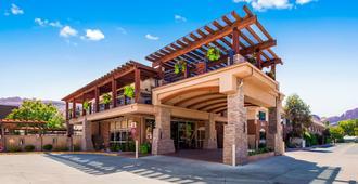贝斯特韦斯特普勒斯峡谷之地旅馆 - 摩押 - 建筑