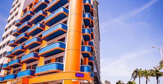 坎迪尔哈斯海滩酒店 - 韦拉克鲁斯 - 建筑