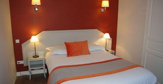 托耶中央车站酒店 - 特鲁瓦 - 睡房