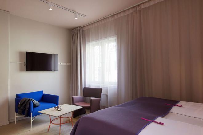 斯堪迪克卡尔约翰酒店 - 奥斯陆 - 睡房