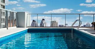 布宜诺斯艾利斯波罗微笑温德姆酒店 - 布宜诺斯艾利斯 - 游泳池