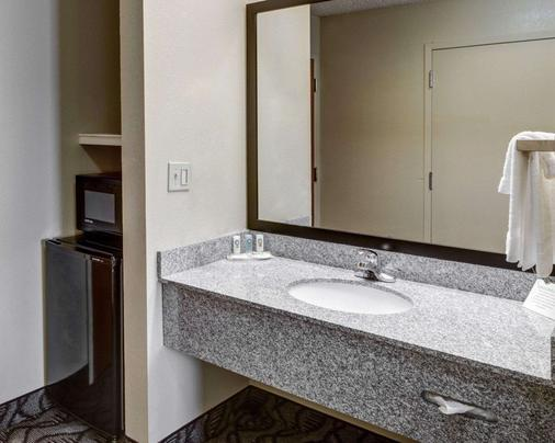 品质套房酒店 - 巴吞鲁日 - 睡房