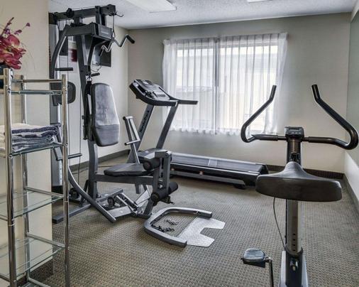 品质套房酒店 - 巴吞鲁日 - 健身房