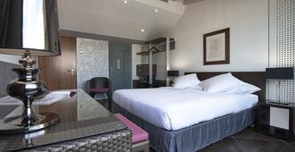 德爱里维酒店 - 日内瓦 - 睡房