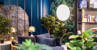 爱丁堡皇家大道公寓式酒店 - 爱丁堡 - 客厅