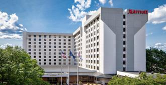 纽约拉瓜迪亚机场万豪酒店 - 皇后区 - 建筑