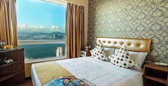 华丽海景酒店 - 香港 - 睡房